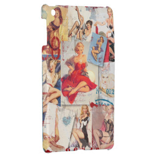 The Kitsch Bitsch © : Love Pin-Up Collage iPad Mini Cover
