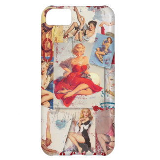 The Kitsch Bitsch © : Love Pin-Up Collage iPhone 5C Case