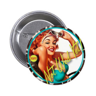 The Kitsch Bitsch : Not Wed Yet! 6 Cm Round Badge