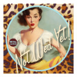 The Kitsch Bitsch : Not Wed Yet! Bridal Shower Personalised Announcement