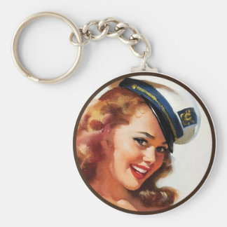 The Kitsch BItsch : Pin-Up Portraits Key Chain