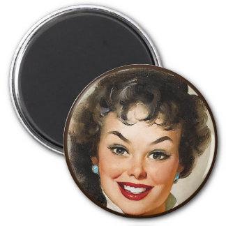 The Kitsch BItsch : Pin-Up Portraits 6 Cm Round Magnet