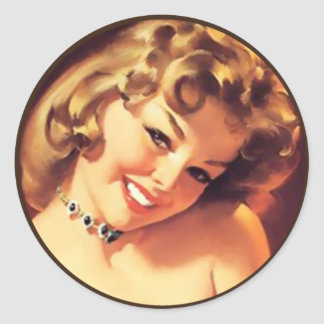 The Kitsch Bitsch : Pin-Up Portraits Stickers