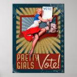 The Kitsch Bitsch : Pretty Girls Vote No. 2 Posters