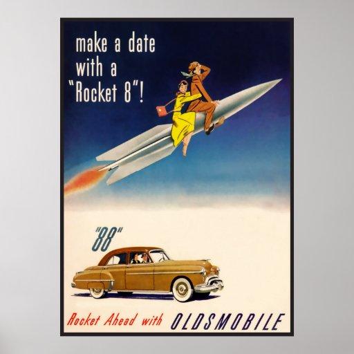 The Kitsch Bitsch : Rocket 8 Oldmobile Poster