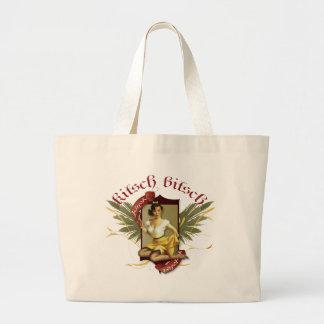 The Kitsch Bitsch Soda Girl Tattoo Pin-Up Canvas Bag