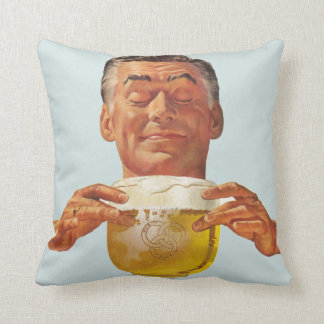 The Kitsch Bitsch™: Vintage Advertising Graphics Throw Pillow