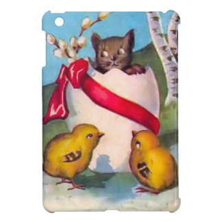 The kitten and the chicks cover for the iPad mini