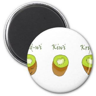 The kiwi trio magnet