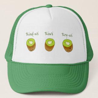 The kiwi trio trucker hat