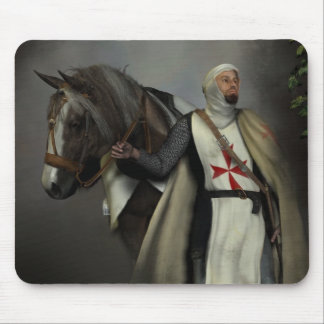 The knight templar mouse pad