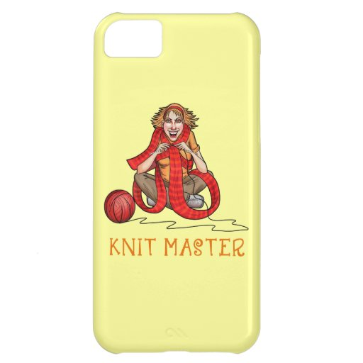 The Knit Master iPhone 5C Covers