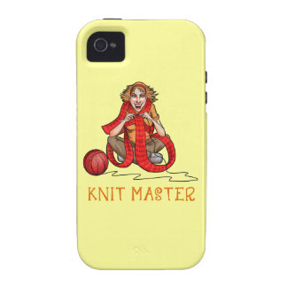 The Knit Master iPhone 4 Covers