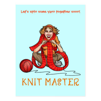 The Knit Master Post Cards