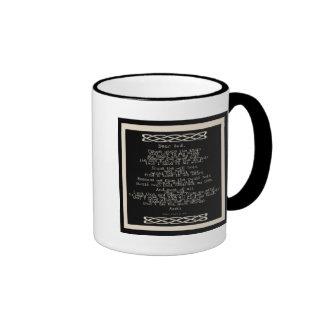 The Knots Prayer Ringer Mug
