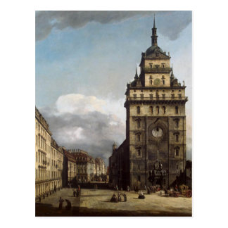 The Kreuzkirche in Dresden by Bernardo Bellotto Postcard