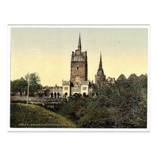 The Kroepeliner Gate, Rostock, Mecklenburg-Schweri Postcard