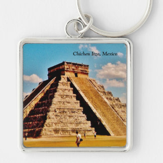 The Kukulkan Pyramid Key Ring