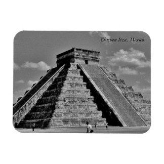 The Kukulkan Pyramid Magnet