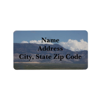 The La Sal Mountains Address Labels