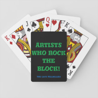 The Lace Millbillies Playing Cards