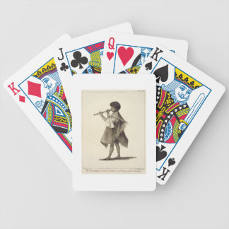 The Lad Taiyota, Native of Otaheite, in the Dress Bicycle Playing Cards