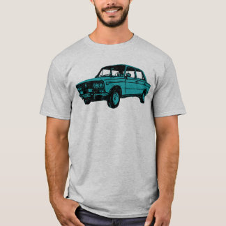 The Lada. Russian Car T-Shirt