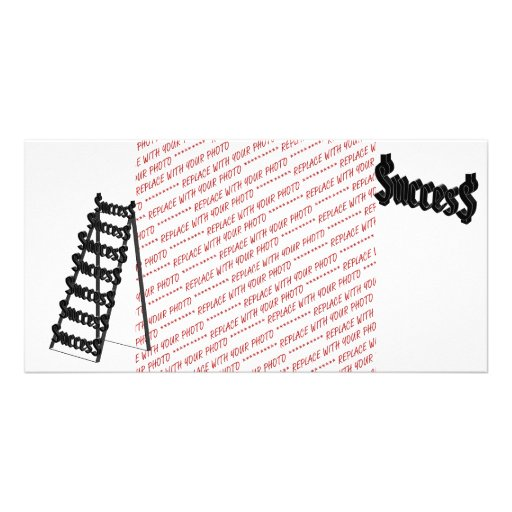 The Ladder of Success Picture Card