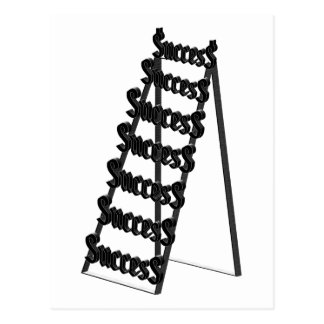The Ladder of Success Postcard
