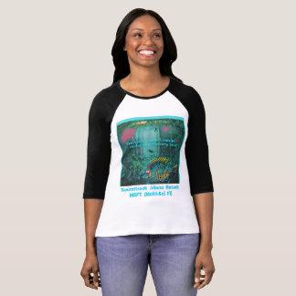 🐠 The Ladies Raglan Gallery Under-T Worn Over T-Shirt