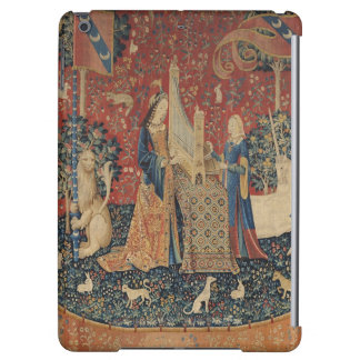 The Lady and the Unicorn: 'Hearing' iPad Air Cover
