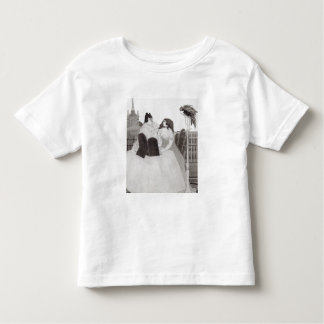 The Lady at the Dressing Table (ink and wash) Toddler T-Shirt