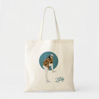 The Lady - Leaf Tote Bag