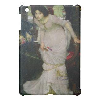 The Lady of Shallot by John Waterhouse iPad Mini Case