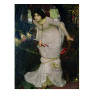 The Lady of Shallot by John Waterhouse Postcard
