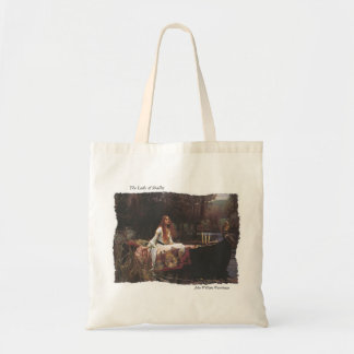 The Lady of Shallot Tote Bag