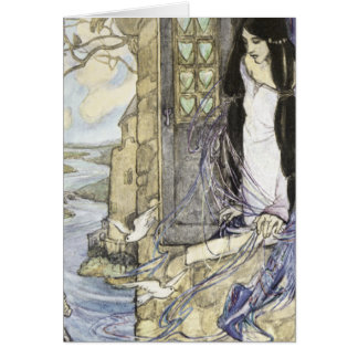 The Lady of Shalott, Card