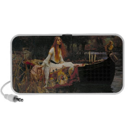 The Lady of Shalott, John William Waterhouse iPhone Speakers
