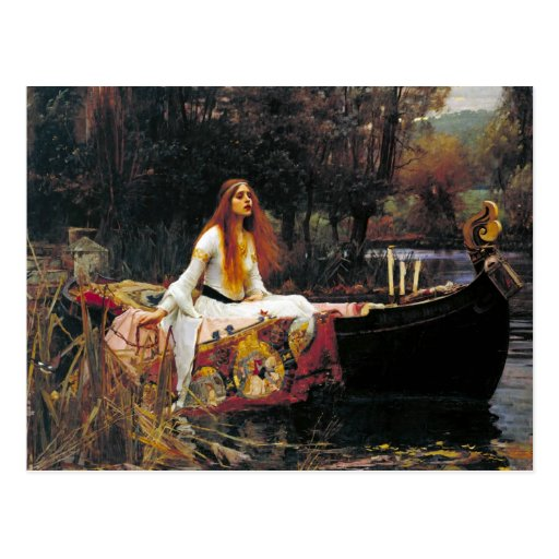 The Lady of Shalott Post Cards