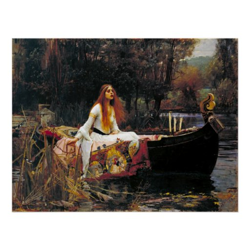 The Lady of Shalott Posters
