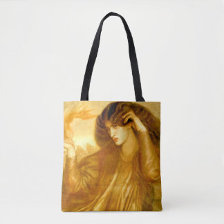 The Lady of the Flame Tote Bag