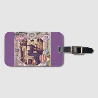 The Lady Traveler Luggage Tag