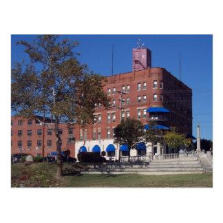 The Lafayette Hotel Postcard