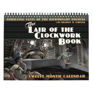 The Lair of the Clockwork Book Calendar