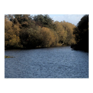 The Lake 2 Postcard