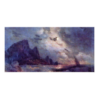 The Lake By Aiwasowskij Iwan Konstantinowitsch (Be Photo Greeting Card