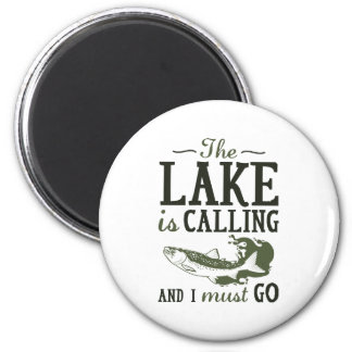 The Lake Is Calling Magnet