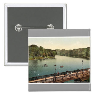 The lake, north side, Konigsberg, East Prussia, Ge Button