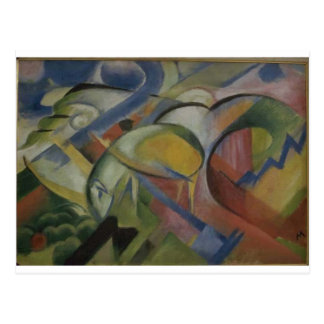 The Lamb by Franz Marc Postcard