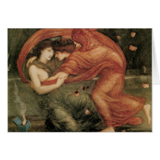 The Lamentation, Edward Burne-Jones Greeting Card